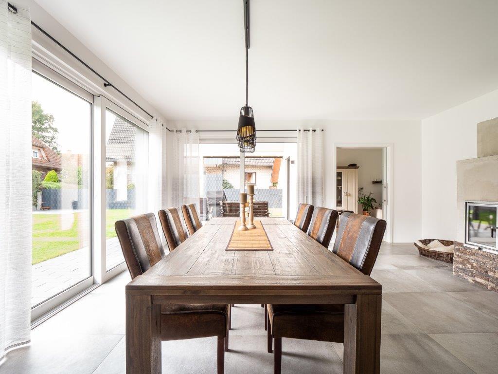 Innenansicht Einfamilienhaus in Sande